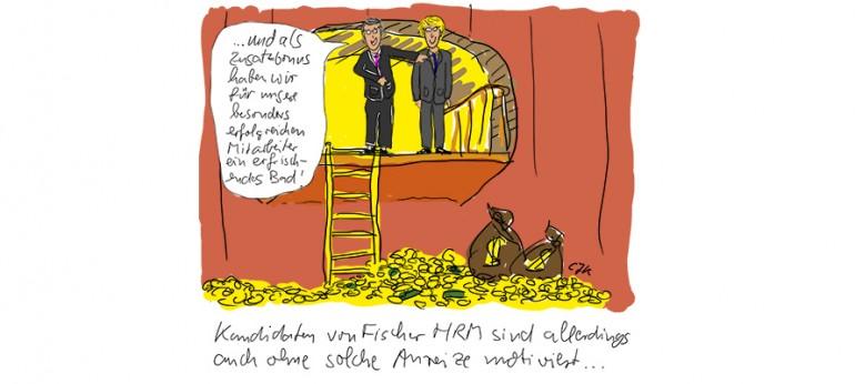 Fischer HRM und die Finanzwelt