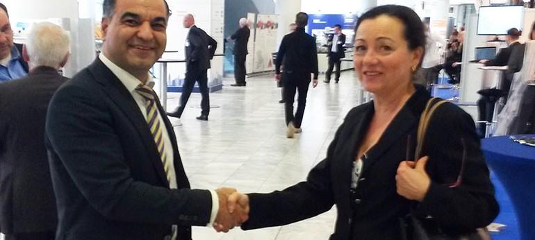 Der Leiter der AHK Teheran, Herr Tim Latif, lädt die deutschen Unternehmer nach Teheran ein